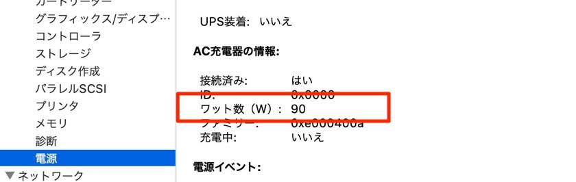 U3219Qの給電90Wのイメージ